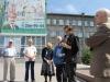 I Литературный марафон возле памятника поэту-сибиряку  Борису Богаткову